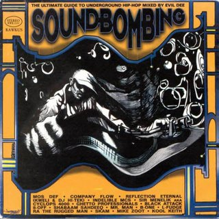 VA - RAWKUS PRESENTS SOUNDBOMBING VOL. I 1997 (FRONT)